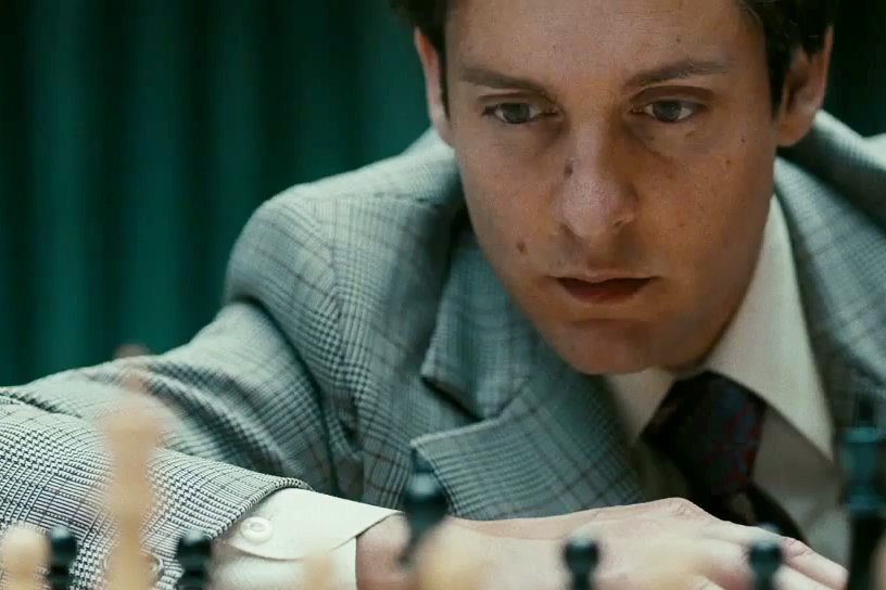 Tobey Maguire Talks Poker Ahead of Bobby Fischer Chess ...