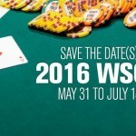 WSOP 2016 Save the Dates