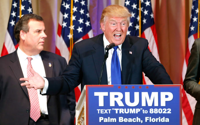 Donald Trump Hillary Clinton Chris Christie