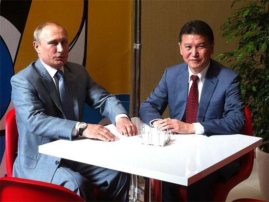 Kirsan Ilyumzhinov backing regulated poker in Russia.