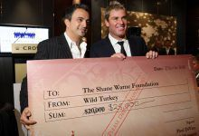 Shane Warne and Joe Hachem See Limo Go Missing Ahead of Aussie Charity Poker Event