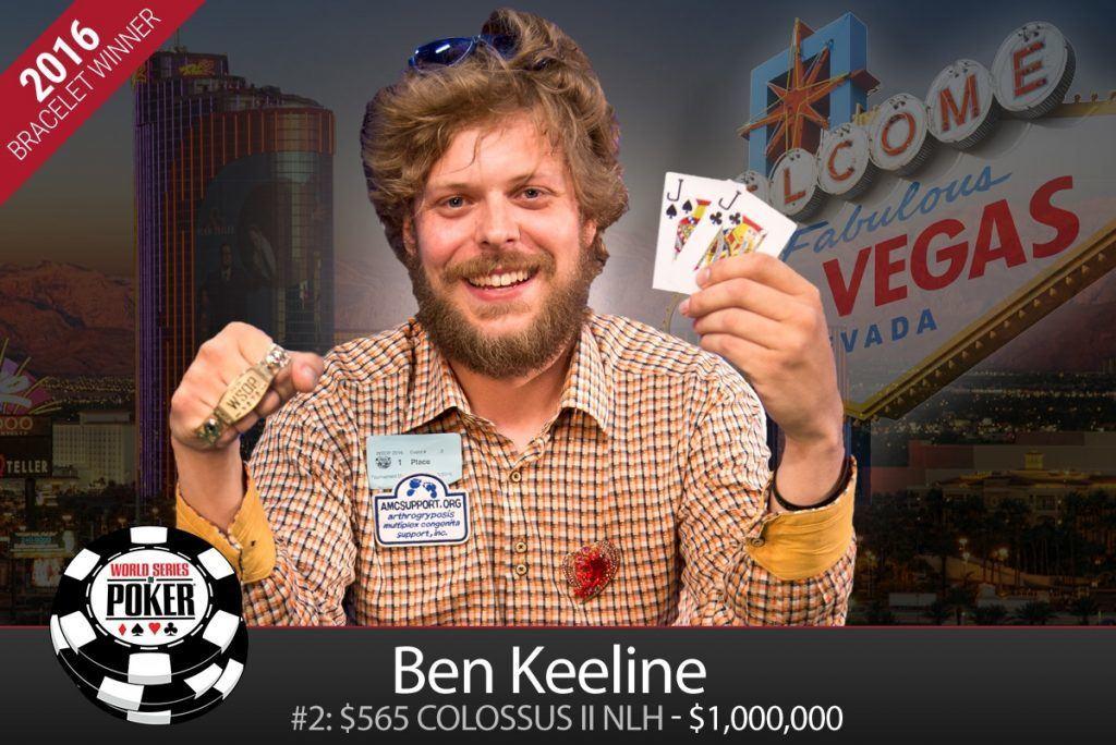 Ben Keeline Colossus II winner WSOP 2016