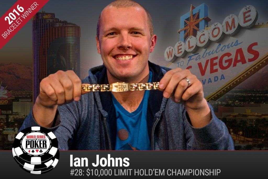 Ian Johns WSOP 2016