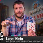Loren Klein WSOP 2016
