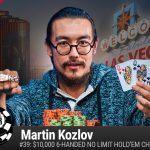 Martin Koslov WSOP 2016