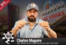 2016 World Series of Poker Daily Update:Maguire Takes Online Event, McKeehen Off to Great Start in Main