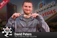 2016 World Series of Poker Daily Update: After Eight Final Tables, Peters Wins Gold