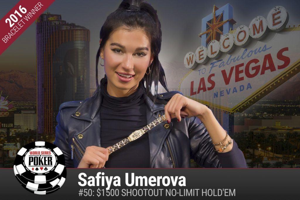 Safiya Umerova WSOP 2016