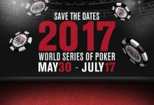 WSOP Announces First Events in 2017 Schedule