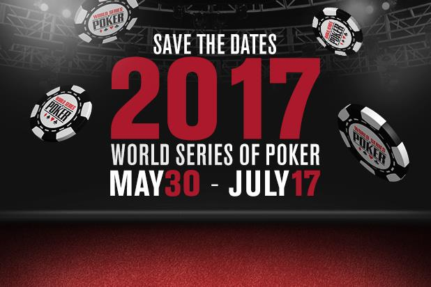 wsop poker schedule