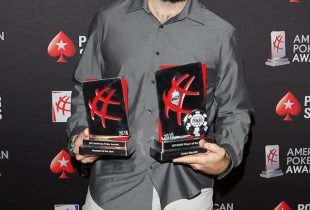 Jason Mercier Does the Double at GPI American Poker Awards