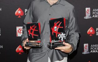 Jason Mercier Does the Double at GPI American Poker Awards