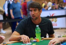 Michael Phelps Beaten By Wife in $1 Million Charity Poker Event