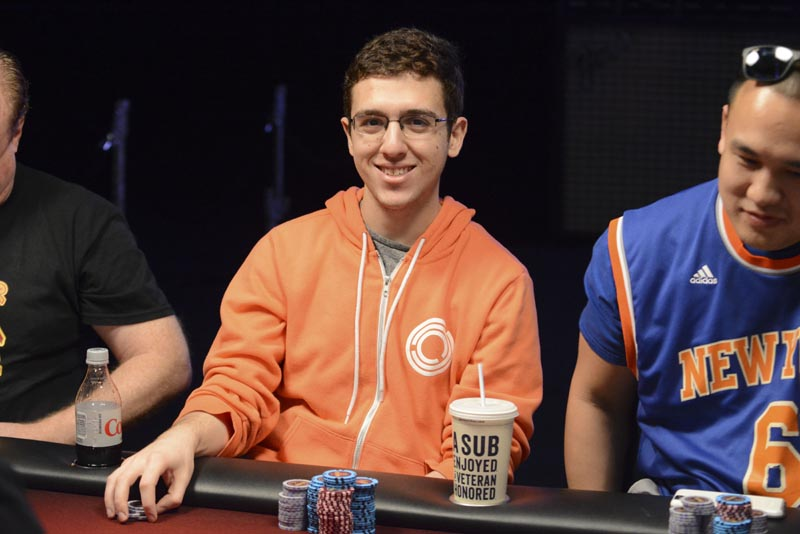 Bradley Snider Seminole Hard Rock Poker Open.
