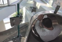 Phil Galfond's Iconic Indoor Slide Could be Yours for $15,000