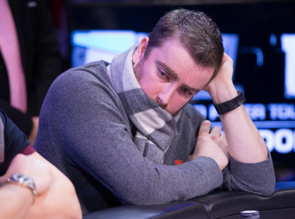 Antoine Saout WSOP Main Event.